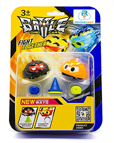 Rocket Boy Battle Gyro Car Spinning Tops Battle Tops, Spinning Toy Car, Top Toys, Spinning Top | Entertainment, Fun and Learning - 6 pc Set