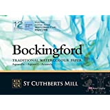 "Bockingford 300gsm Glued Watercolour Pad 7"" x 5"" (180 x 130mm)"