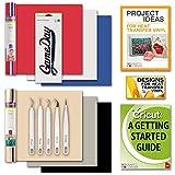 Cricut EasyPress SportsFlex Iron On Bundle Beginner Guide Weeding Kit IronOn Decal Designs Ideas
