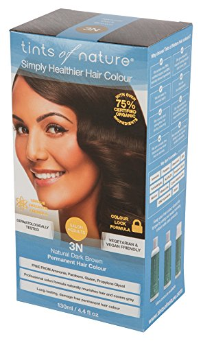 Tints of Nature Permanenent Colour - 4.4 fl oz - 12 Pack (3N Natural Dark Brown) by Tints of Nature