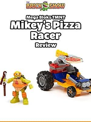 Review: Mega Bloks TMNT Mikey's Pizza Racer Review