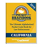 Pocket Brainbook - California Police Edition - 2019
