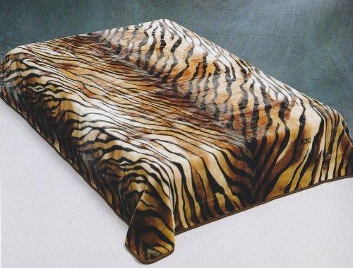 tiger-skin-brown-wonu-trix-korean-mink-blanket-queen-size