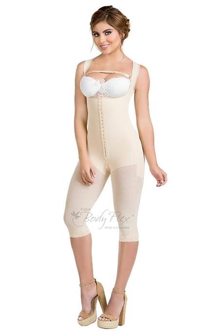 0451c8d59f3 Fajas Colombianas Body Flex Womens Body Shaper,Thigh & Back Coverage  Post-Operative Garment