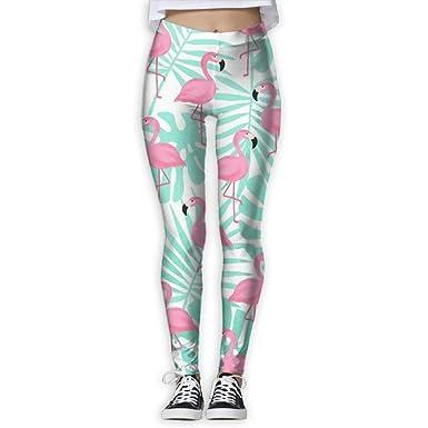 ANTOUZHE Pantalones de Yoga, Pantalones de Mujer Pink ...