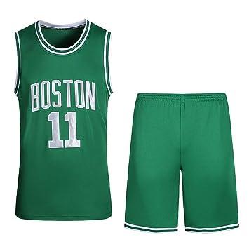 Celtics New Season 11th Jersey, Conjunto De Camiseta De Baloncesto De Bordado De Uniforme De Traje De Baloncesto: Amazon.es: Deportes y aire libre