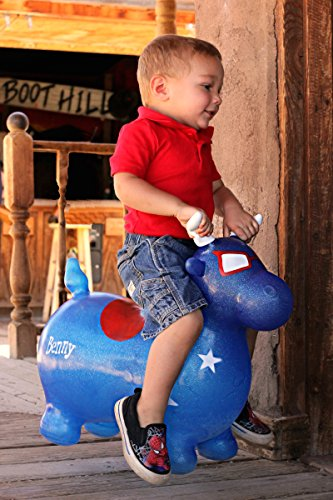 8b322ff36 WALIKI TOYS Bouncy Horse Benny the Jumping Bull (Inflatable ...