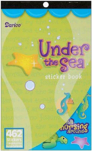 Darice 106-806 Under The Sea Sticker Book: 462 Sea Stickers for Kids Under The Sea Sticker Book