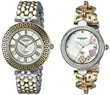 Akribos XXIV Women's AK886TT Quartz Movement Analog Display Watch Gift Set