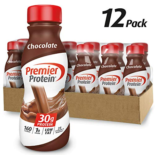 Premier Protein 30g Protein Shake, Chocolate, 11.5 Fl Oz, Pack of 12 (Best Milk To Use With Whey Protein)