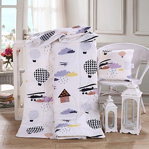 Jinyidian'Shop-almohada Manta coche multifunción almohada edredón Cojín de sofá cama edredones Oficina Almohadas Almohada plena edredones cama ,110160cm,38 98f12b