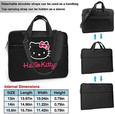 Multi Size Hello Kitty Pink Notebook Computer Protective Bag Tablet Briefcase Carrying Bag,13 Inch Laptop Sleeve Case