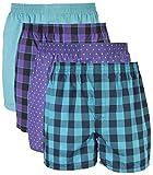 Gildan Mens Woven Boxer Underwear Multipack