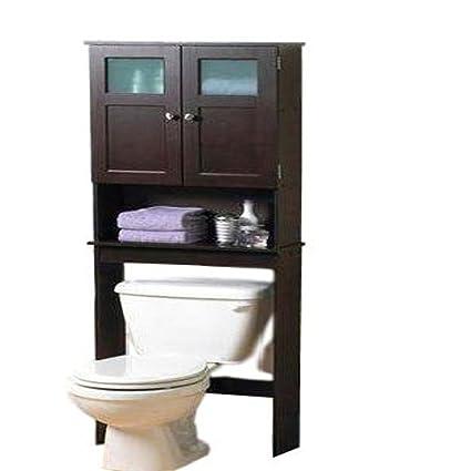 Amazon Com Over The Toilet Storage Cabinet Bathroom Practical