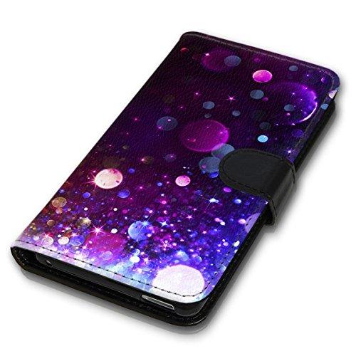 Wallet Book Style Flip Handy Tasche Case Schutz Hülle Schale Motiv Etui für Apple iPhone 5 / 5S - Design Flip MVD142