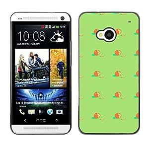 ZECASE Funda Carcasa Tapa Case Cover Para HTC One M7 No.0000845
