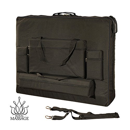 Royal Massage Deluxe Black Universal Oversized Massage Table Carry Case - 30