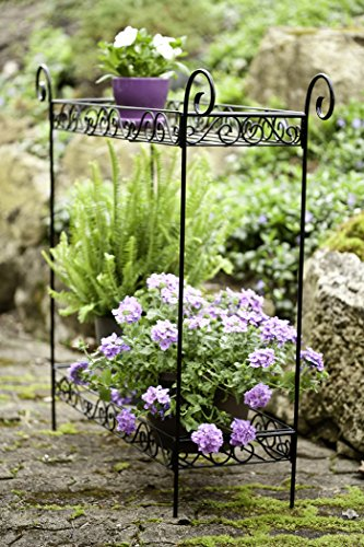 Panacea 86730 Plant Stand, 33-Inch Height, Black