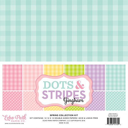 (Echo Park Paper Company Spring Gingham Collection)