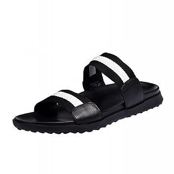 6bded5d922d8 SLR Men s Sandals one-Word Drag Outdoor Non-Slip Summer wear Men s Trend  Personality