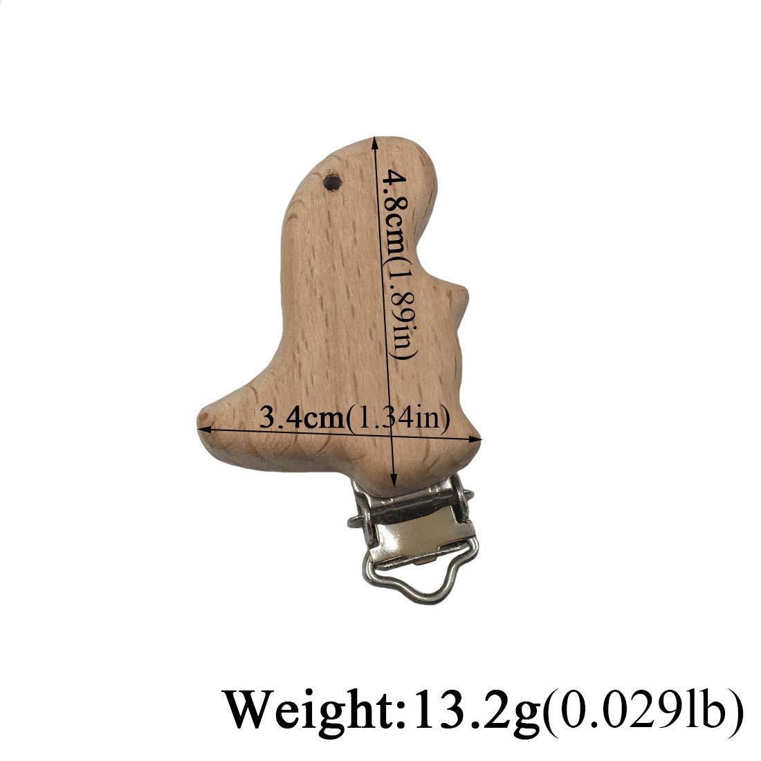 Schnuller Clip 5 St/ück Schnullerclip Nuckel-Clip Nippel Halter f/ür Baby und Kind Holz Schnullerketten Clips//Dummy Nippel Halter S/äugling Schnuller Verschl/üsse Halter Zubeh/ör