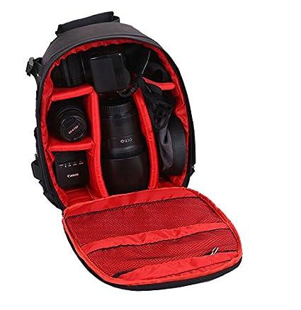Vinteky® Mochila para cámaras impermeable del morral para DSLR ...