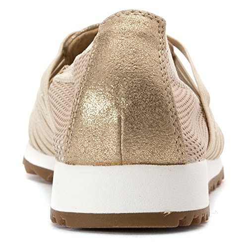 Easy Spirit Lehni Mujeres Sneaker Gold