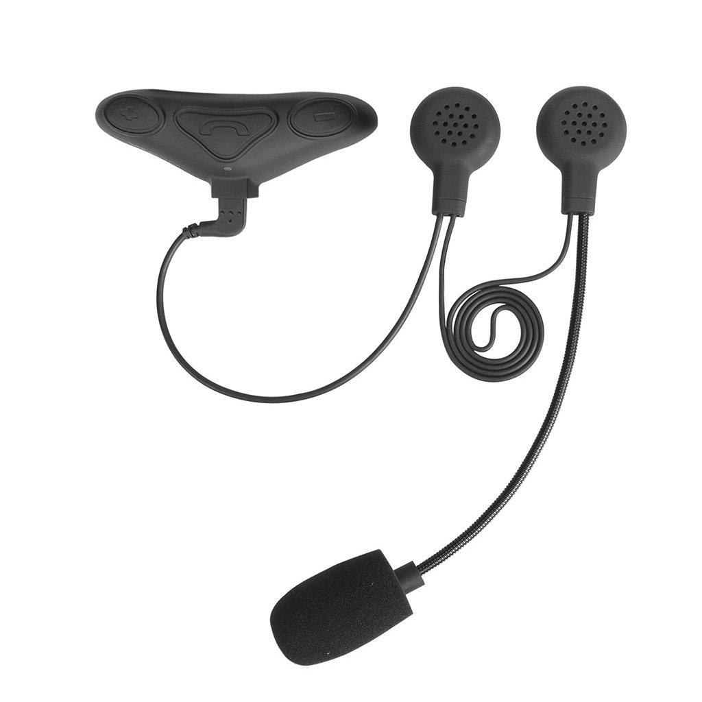 Avantree Kit Intercomunicador Bluetooth IMPERMEABLE para Casco de Moto Auriculares Manos Libres