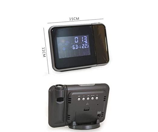 CS-LJ Calendario del proyector de la Alarma LED de la Pantalla de ...