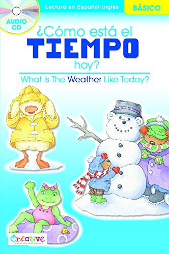 What Is The Weather Like Today? / Cmo Est El Tiempo Hoy? with CD (English and Spanish Edition)