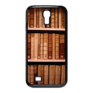 Custom Library Hobbies Bookshelf Vintage Shell Printed Hard Plastic Cover Case (HD Image) For SamSung Galaxy S4 I9500
