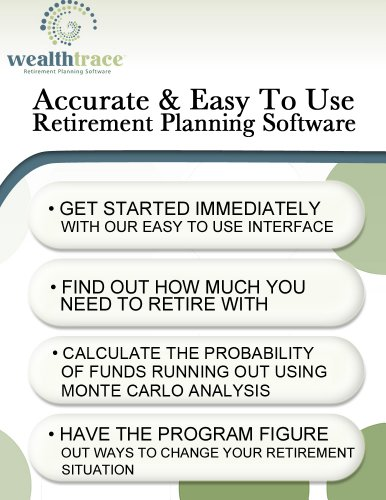 WealthTrace Retirement Planner (Advanced Version) for Mac [Download] by WealthTrace