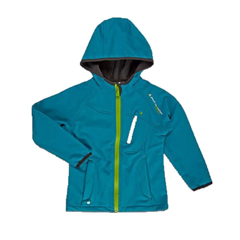 Turquoise 10 ans Peak Mountain - Blouson softshell 10 16 ans GANSO