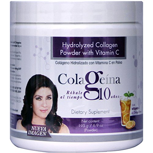 COLAGEINA 10 Hydrolyzed Collagen Powder with Vitamin C as seen on TV For Sale
