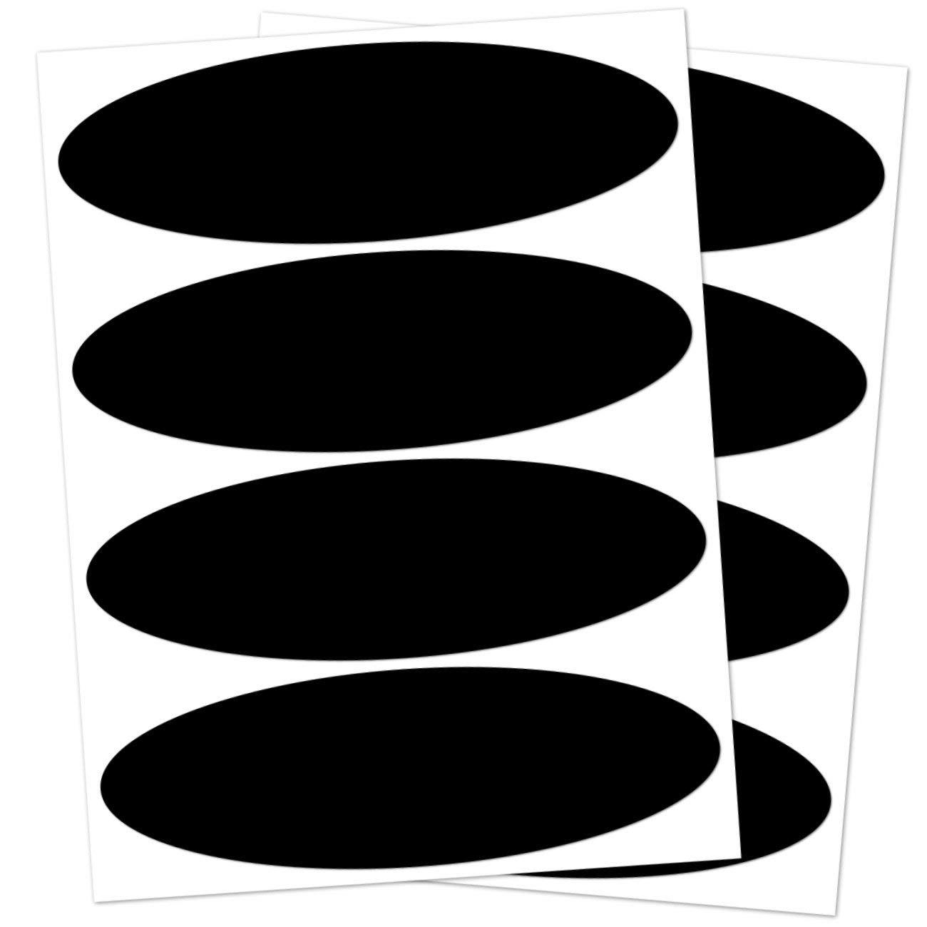 Lot de 2 Kit 4 Autocollants r/éfl/échissants, 8,5 x 2,7 cm, Noir B REFLECTIVE,