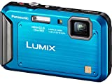 Panasonic Lumix TS20 16.1 MP TOUGH Waterproof Digital Camera with 4x Optical Zoom (Blue) (OLD MODEL)