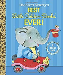 Richard Scarry's Best Little Golden Books Ever! (Richard Scarry) (Little Golden Book Treasury)