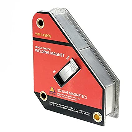 MASUNN Fuerte Solo Interruptor Imán De Soldadura De Encendido/Apagado De La Abrazadera Magnética Tamaño