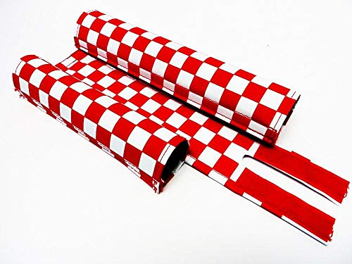 Flite BMX Pad Set Old School Checker Pattern