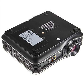 EJL010 LED 55W Lámpara portátil 80 Juego Multimedia Proyector Modo ...