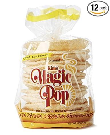 Kims Magic Pop - Paquete de 12 tartas de arroz recién ...