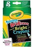 Crayola Dry Erase Bright 8 Count Crayons