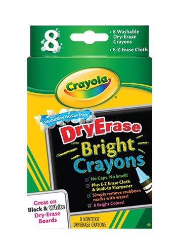 Crayola Erase Bright Count Crayons