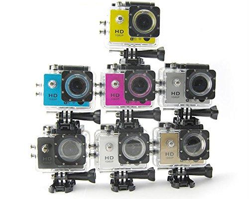 7 opinioni per NOVITA* Pro Cam Sport Action Camera FULL HD DV 1080p 12MP Videocamera WiFi GO