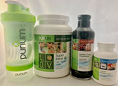 Purium Core3 Pack with L.O.V. Super Meal Vanilla Chai