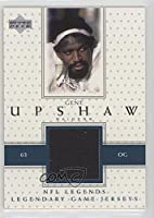 Gene Upshaw (Football Card) 2000 Upper Deck Legends - Legendary Game Jersey #LJ-GU