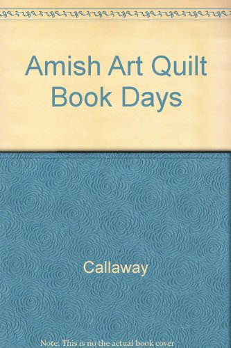 Amish Art Quilt Book Days|-|002079861X