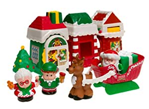 Amazon.com: Fisher-price Little People: Christmas Village ...