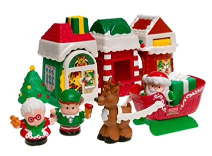 Fisher Price Little People Christmas Village
