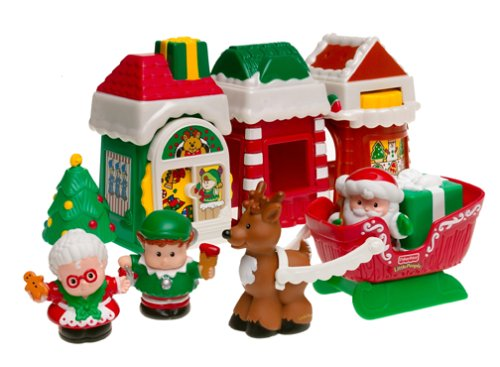 Amazon.com: Fisher-price Little People: Christmas Village: Toys ...